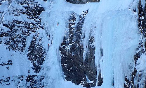 multi-pitch - ice climbing level 3