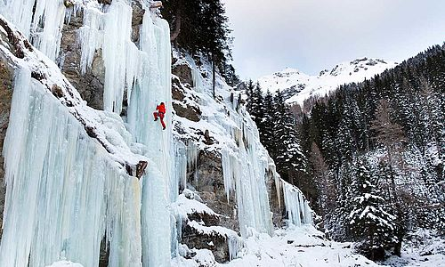 lead climbing - ice climbing level 2