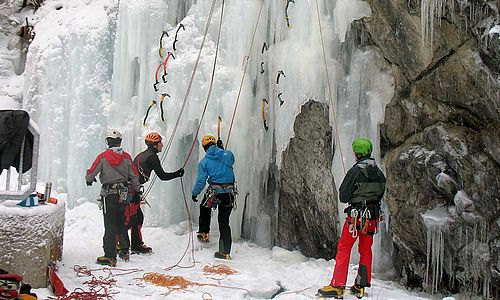 beginners - ice climbing level 1